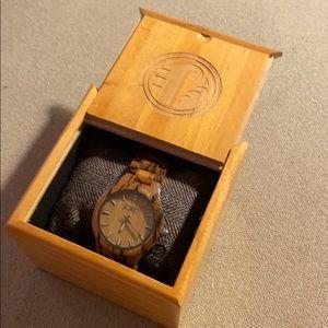 Jord Fieldcrest Wooden Watch